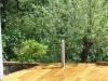 Pipa na lesenem podiju